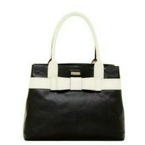 KATE SPADE NEW YORK ALICE COURT DIEHL LEATHER TOTE